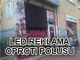 LED reklama oproti POLUSU